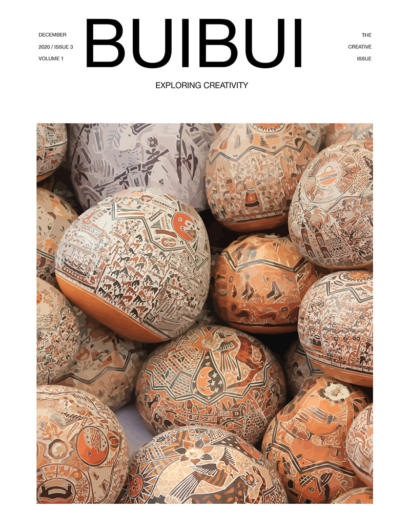 magazine issue three cover