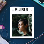 buibui magazine issue one mockup