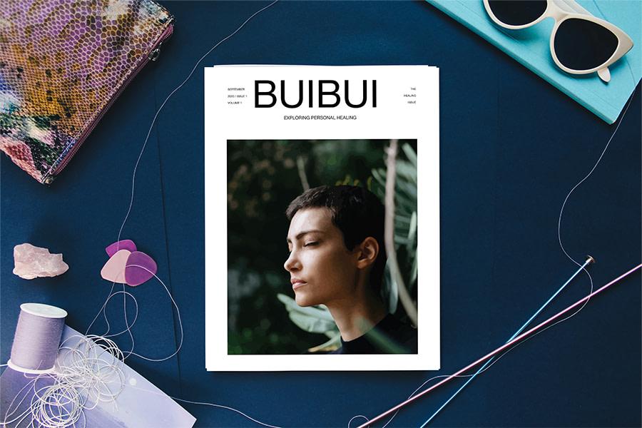 buibui magazine issue one mockup