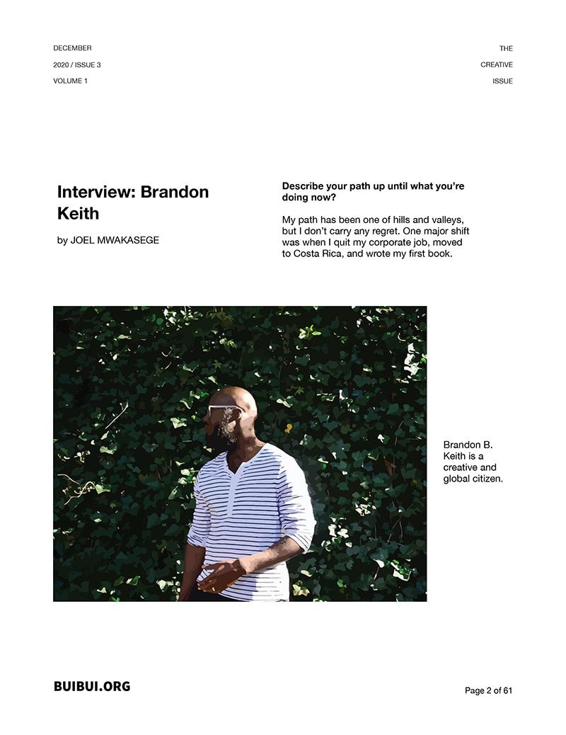 magazine issue three one